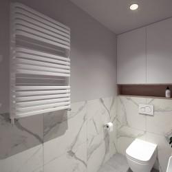 Optimus - ozdobny grzejnik łazienkowy Luxrad
